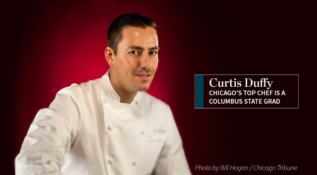 Curtis Duffy - Columbus State Chef
