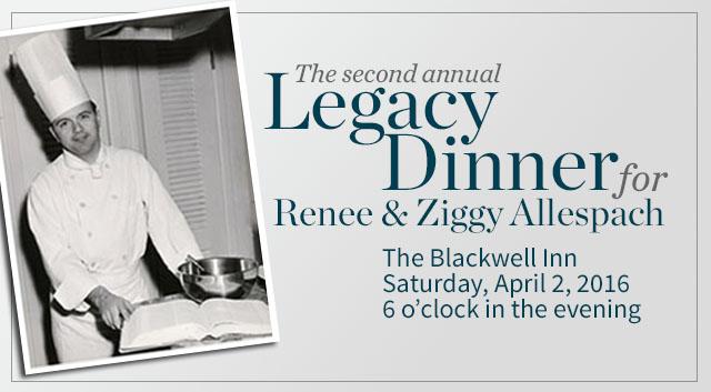 Legacy Dinner Event